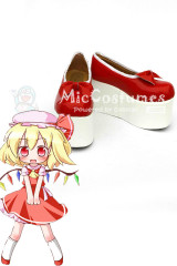 Touhou Project Flandre Scarlet Cosplay Shoes