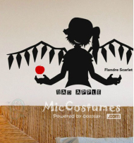Touhou Project Flandre Wall Sticker