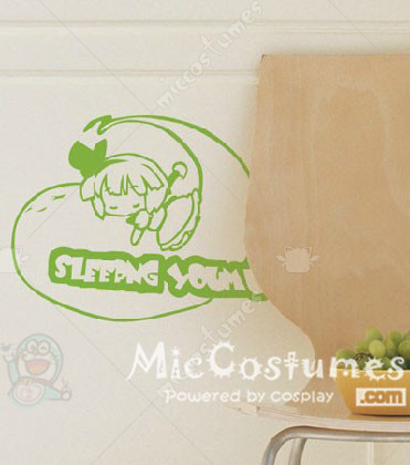 Touhou Project Konpaku Youmu Wall Sticker