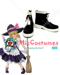 Touhou Project Marisa Kirisame Curiosities of Lotus Asia Version Cosplay Boots