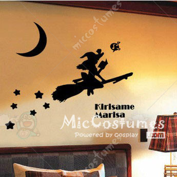 Touhou Project Marisa Kirisame Wall Sticker