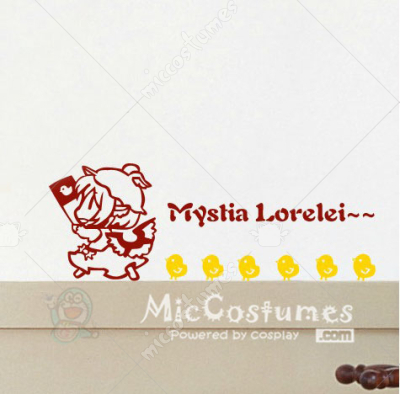 Touhou Project Night Sparrow Wall Sticker