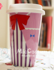 Touhou Project Patchouli Glazed Ceramic Cup