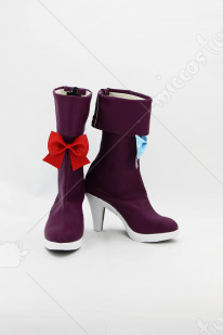 Touhou Project Patchouli Knowledge Cosplay Boots