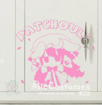 Touhou Project Patchouli Wall Sticker