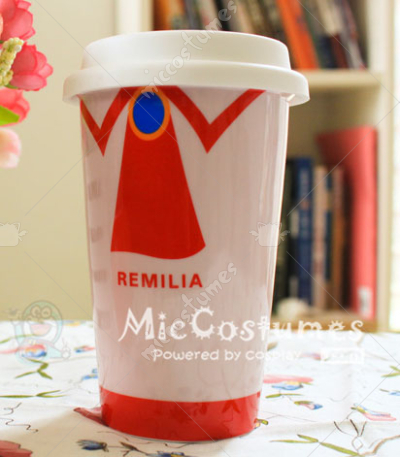 Touhou Project Remilia Glazed Ceramic Cup