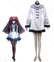 Touka Gettan Girls Winter School Uniform Cosplay Costume