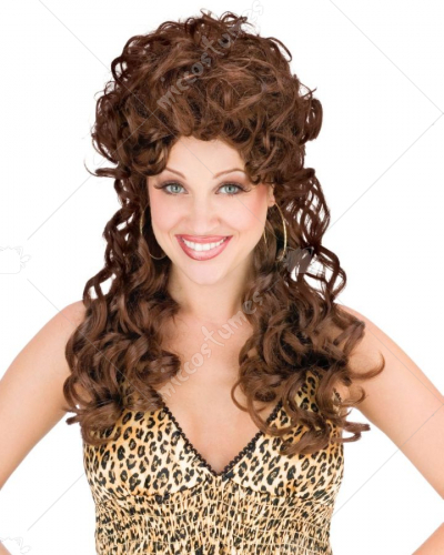 Trailr Park Trophy Wife Wig Brown