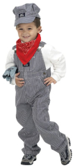 Jr. Train Engineer Suit Toddler Child Costume