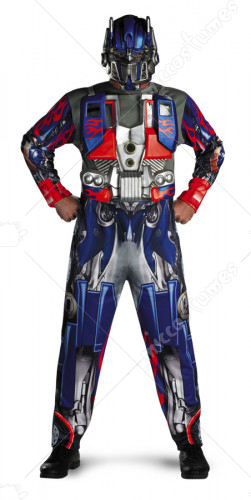 Transformer Optimus Prime Adult Costume