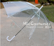 Transparent Umbrella For Cosplay