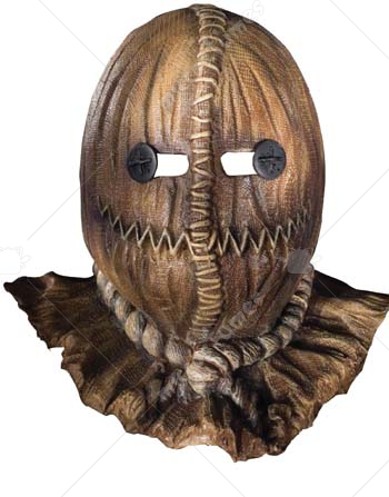 Trick r Treat Sam Burlap Latex Mask
