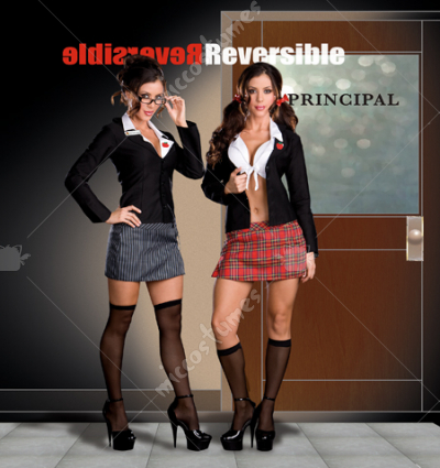 Trouble At School Adult Costume