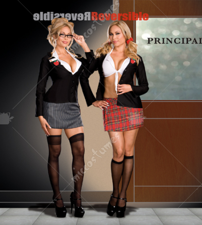 Trouble At School Adult Plus Costume