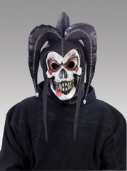 Twisted Jester Mask Black