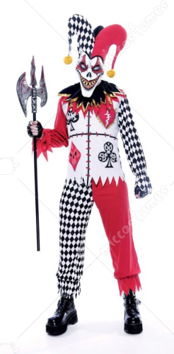 Twister Joker Men Adult Costume