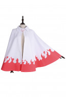 Uzumaki Naruto 7th Hokage Cloak Halloween Coat  Cosplay Costume