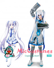 VOCALOID Family Snow Miku Cosplay Costume