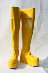 Vocaloid Love is War Rin Cosplay Boots