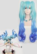 Vocaloid Racing Miku Cosplay Wig