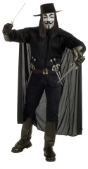 V for Vendetta Extra Large Adult Costume