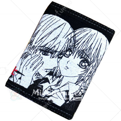 Vampire Knight Bifold Canvas Wallet