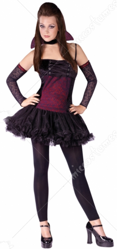 Vampirina Teen Costume