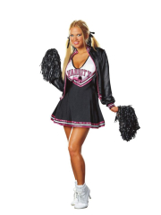 Varsity Cheerleader Adult Plus Costume