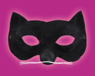 Velvet Cat Eye Mask