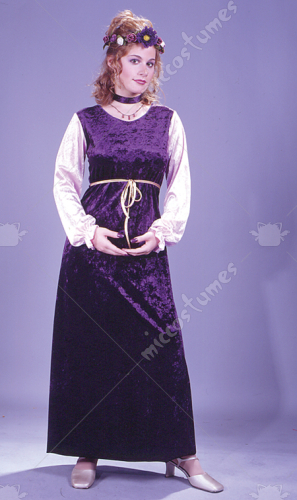 Velvet Harvest Princess Costume