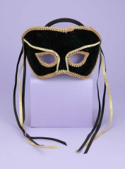 Venetian Couple Mask BK G