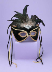 Venetian Couple Mask BK GD