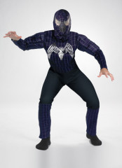 Venom Muscle Child Costume