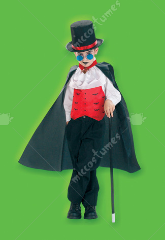 Villainous Vampire Child Costume