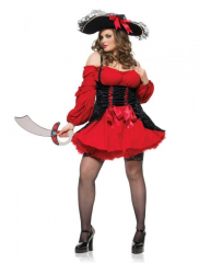 Vixen Pirate Wench Sexy Adult Plus Costume
