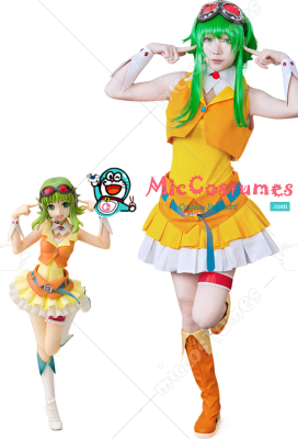 Vocaloid Gumi Megpoid Cosplay Costume