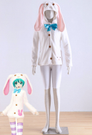 Vocaloid Miku Cute Rabbit Cosplay Coat
