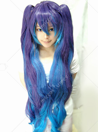 Vocaloid2 Anti The Holic Miku Cosplay Wig