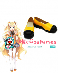 Vocaloid 3 SeeU Cosplay Shoes