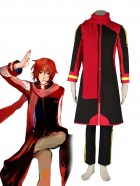 Vocaloid Akaito Black Cosplay Costume