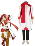 Vocaloid Akaito White Cosplay Costume
