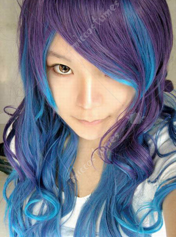 Vocaloid Anti The Holica Luka Cosplay Wig
