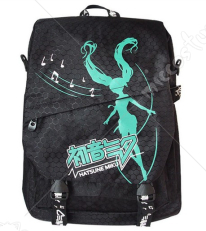 Vocaloid MIKU Black Backpack