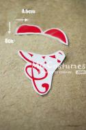 Vocaloid  Circus Rin Cosplay Tattoo Sticker