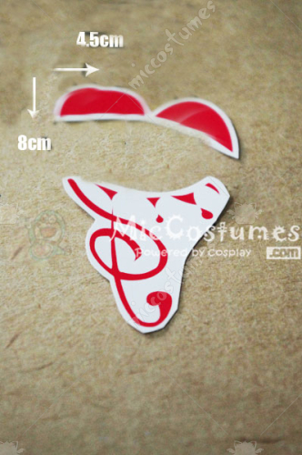 Vocaloid  Circus Rin Cosplay Tattoo Sticker