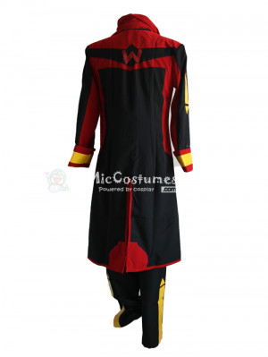Vocaloid Akaito Black Cosplay Costume