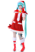 Vocaloid Miku Christmas Cosplay Costume