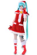 Vocaloid Miku Christmas Cosplay Costume