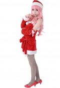 Vocaloid Luka Christmas Cosplay Costume