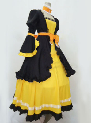 Vocaloid Daughter of Evil Rin Cosplay Costume
